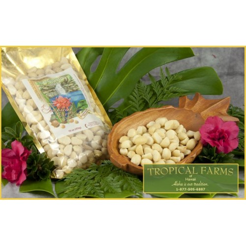 Macadamia Nuts -Roasted Unsalted 16 oz