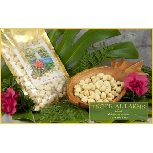 Macadamia Nuts - Plain Salted 16 oz